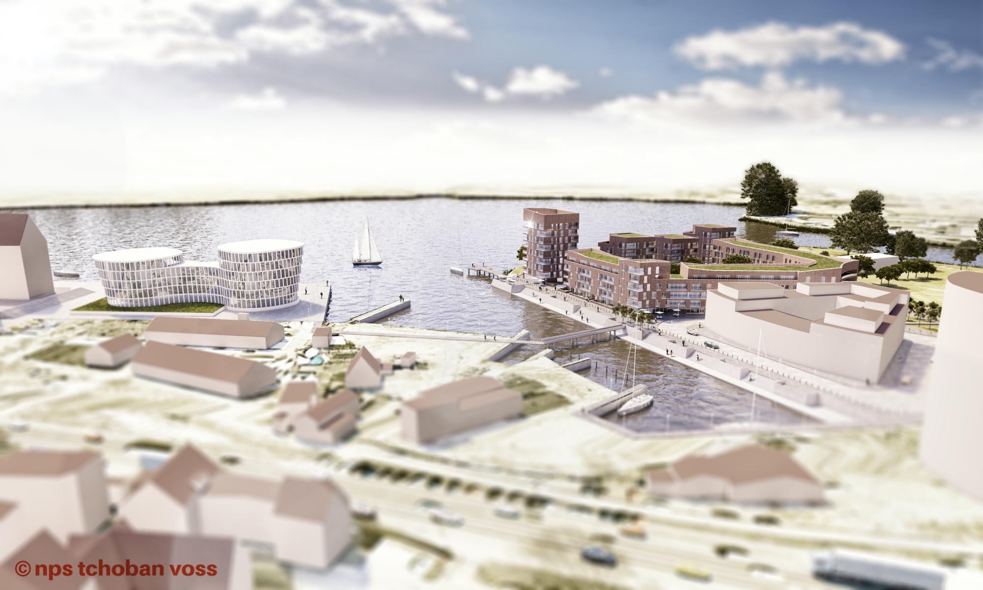 Rostock DE_Holzhalbinsel Wettbewerb 1.Preis