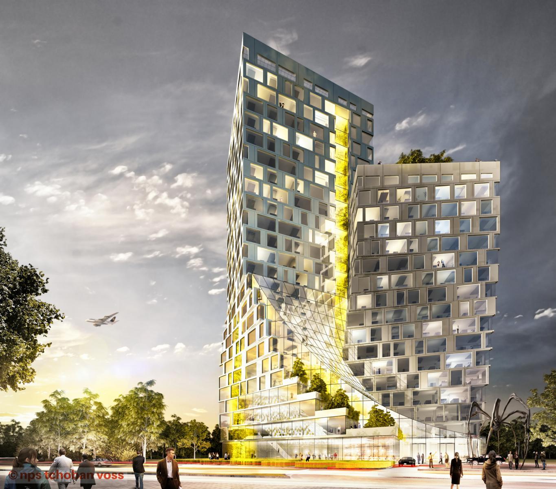 Frankfurt DE_Twisting Garden Towers