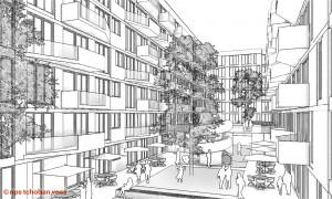 K1600_HafenCity-Skizze_Hof